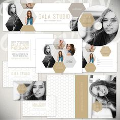 Photography Marketing Templates Gala Studio  by BeautyDivineDesign