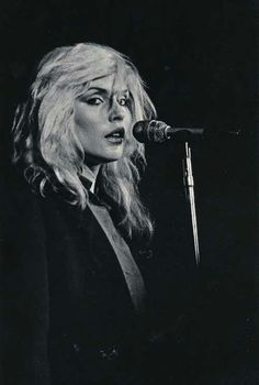 Blondie - Debbie Harry The original and still the best. How many female vocalists can you think of who have copied her?