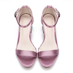 Yoins Purple Hollow Metallic Block Heel Single Strap Front Sandals (990 UYU) ❤ liked on Polyvore featuring shoes, sandals, block heel sandals, one strap heel sandal, heeled sandals, synthetic leather shoes and faux leather sandals