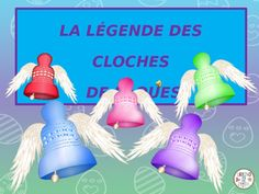 Powerpoint presentation depicting the Legend of the Flying Easter Bells in France.  Created for a beginning level French class. Presentation includes:- Informative text with pics about the holiday in France- a little history of the origin of the legend-pics of the new bells at Notre Dame de Paris- matching word to picture activity- word search with word bankThis file is entirely in French.