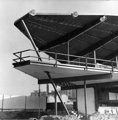Canódromo Meridiana (1963)    Arquitecto: Antoni Bonet Castellana  Ciudad: Barcelona (Barcelona - Catalunya)  País: España, Europa