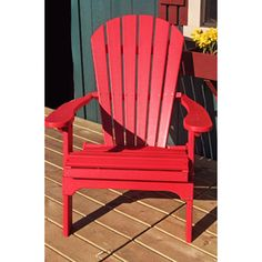 Forever Phat Tommy Recycled Deluxe Folding Adirondack Chair By Phat Tommy |  Outdoor Living, Colors And Chairs