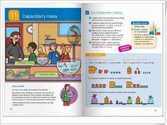 """Unidad 11 de Matemáticas de 4º de Primaria: """"Capacidad y masa"""" Math Worksheets, Editorial, Interactive Activities, Primary Education, United States"""