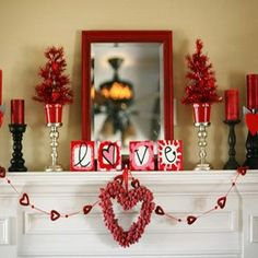 25 valentines day home decor ideas valentines nests and we - Valentine Home Decorations