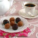 Black Forest Cookie Dough Truffles