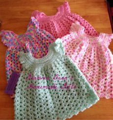 Cute Dresses for newborn to 12 months, wide range of colors! 12.99 each!