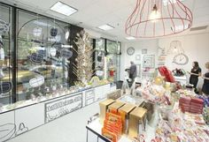A candy store