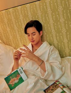 suho ✧ w korea april 2019 Kim Joon, Kim Min Seok, Teen Movies, Hunhan, Kim Junmyeon, Suho Exo, Kpop, Boyfriend Material, Photo Book
