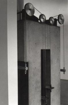 Blades Residence - Photo | Morphopedia | Morphosis Architects Kinetic Architecture, Architecture Details, Morphosis Architects, Container Architecture, Alvar Aalto, Built Environment, Vintage Industrial, Vintage Furniture, Track Lighting