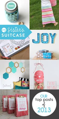 My Sister's Suitcase: Top Posts of 2013 and Favorite Projects!
