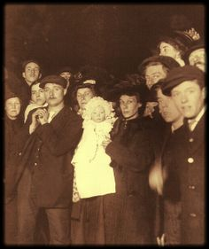 Families in Plymouth await news of their loved ones Many of the crew members of the Titanic were from Plymouth