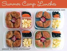 Summer Camp Lunches