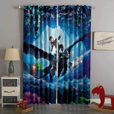 Printed How to Train Your Dragon Style Custom Living Room Curtains – Westbedding How To Train Dragon, How To Train Your, California Bedroom, Dragon Party, Custom Curtains, Bedroom Styles, Room Themes, My New Room, Kids Bedroom