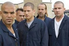 Sucre, Michael, T-Bag, John & Lincoln- prison break!