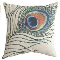 Home Decorators Collection Square Throw Pillow, Peacock Linen Pillows, Decorative Pillows, Cushions, Butterfly Cocoon, Peacock Pillow, Cheap Patio Furniture, Peacock Colors, Peacock Room, Cool Chairs