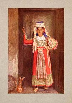 1928 Print Bride Costume Headdress Scanno Abruzzi Italy Religious Canziani Art