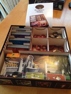 7 Wonders organizer from @tbt_gaming is AWESOME. Highly recommend these guys stuff. @Asmodee_USA @ReposProduction