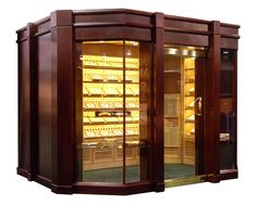 Walk In Man Cave Cigar Humidor....DONE!.....(smile)