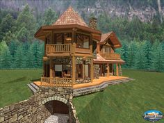 Anderson Custom Homes   Log Home Cabin Packages Kits Colorado Builder  Breckenridge Evergreen Vail Steamboat Handcrafted This Is AMAZING! Part 33
