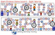Spelling Patterns and Sight Words - Whimsy Workshop Teaching Phonics Reading, Teaching Phonics, Teaching Aids, Teaching Reading, Sight Words Printables, 2nd Grade Worksheets, Spelling Patterns, Classroom Newsletter, Sight Word Games