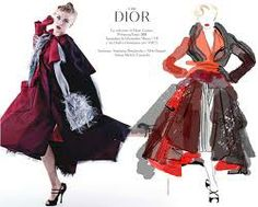 fashion illustration christian lacroix - Google Search