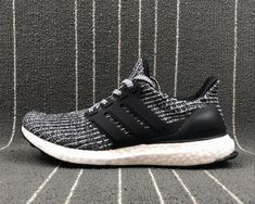 "bce8cf5c9255 adidas Ultra Boost ""Cookies and Cream"" Core Black White For Sale – Adidas  NMD For Sale"