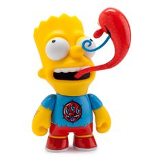 "The Simpsons Kenny Scharf Bart 6"" Medium Figure - Kidrobot - 2"