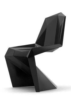 'Lo Res Chair' - Ontwerper: Verner Panton (origineel), nagemaakt door United…