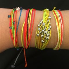 Pura Vida brights bracelet stack! Set of four bracelets in bright punchy and juicy colors for the summer! Discounted listing price is for all four! Can separate for $12/platinum (silver beaded), $10/beaded, $5/each original bracelet. Pura vida Jewelry Bracelets