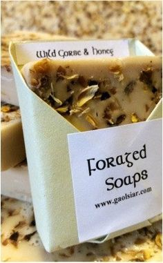 Foraged: Wild Gorse & Honey Soap by WildIrishSoaps on Etsy