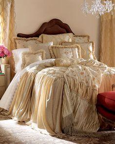 Dian Austin Couture Home Grandeur Bed Linens GRANDEUR MULTI-PATCH PILLOW traditional bed pillows