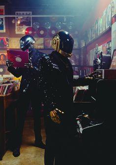 vinyl Daft Punk Thomas Bangalter guy manual