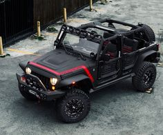 Starwood Motors El Diablo: Custom Jeep Wrangler
