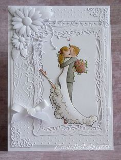 This week the challenge is ,,,,,,,, Embossing Dry/Heat We are showcasing Cuttlebug/Provocraft and Sizzix this week. You ...