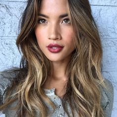 Filipino With Brunette Haircolor Google Search