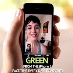 Green (From the iPhone 5 'Face Time Every Day' TV Advert) - Single