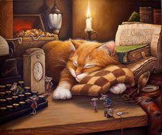 Время сказок  картина А.В.Маскаева
