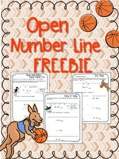 Here's a set of materials to help students use the  open number line strategy for adding and subtracting. Diagrams are provided on each page so students can see how the strategy works.