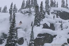 Big Mountain Skier Ian McInTosh is Gaining Access the Old School Way