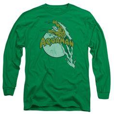 2018 Aquaman T-shirts Cosplay Super-héros Arthur Curry Cool 3D Homme longue T-shirts