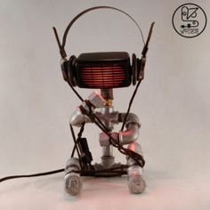 This little guy is all caught up in his thoughts and funky grooves. So, whenever he finds the perfect balance, he lights up gently and wants to be 'Tied Up' there forever. Red Filter, Led Module, Tied Up, Light Up, Guy, Thoughts, Studio, Collection, Vintage