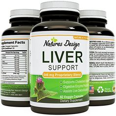 Liver Cleanse Detox Pills For Women And Men Contains Essential Herbs Milk Thistle Dandelion Root  Artichoke Leaf With Enzymes Protease  Lipase  Boost Energy  Metabolic Support By Natures Design *** Check out this great product. (This is an affiliate link)