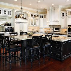 L Shaped Island Design Ideas, Pictures, Remodel, and Decor