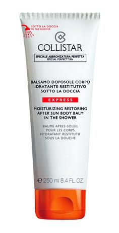 """Baume après-soleil """"sous la douche"""" - www.collistar.it"""