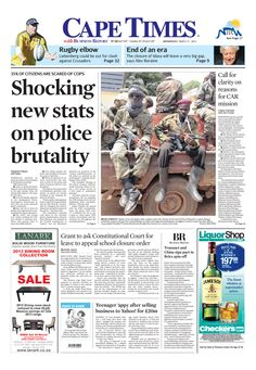 News making headlines:  Shocking new stats on police brutality