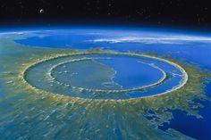 ο κρατήρας που βρίσκεται στην χερσόνησο Γιουκατάν στο Μεξικό