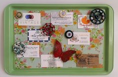 Cookie Sheet Magnetic Memo Board