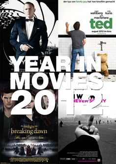 Year in Movies 2012 – A Compilation of 300 Movies from 2012 (Clip)
