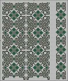 Beading _ Pattern - Motif / Earrings / Band ___ Square Sttich or Bead Loomwork ___ Gallery. Just Cross Stitch, Cross Stitch Bookmarks, Cross Stitch Borders, Cross Stitch Designs, Cross Stitching, Cross Stitch Embroidery, Cross Stitch Patterns, Embroidery Patterns Free, Crochet Stitches Patterns