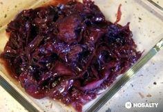 Márton-napi karamellás lilakáposzta